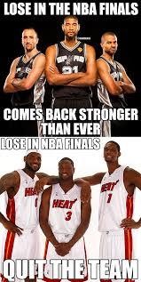 San Antonio Spurs Memes - nba memes on twitter san antonio spurs vs miami heat the