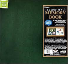 album inserts pioneer scrapbook album 12 x 12 in leatherette