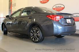 toyota corolla 2017 2017 used toyota corolla se cvt automatic at toyota of bedford
