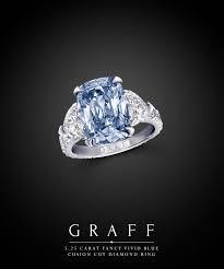 2 5 Cushion Cut Diamond Engagement Ring Graff Diamonds 5 25 Carat Fancy Vivid Blue Cushion Cut Diamond