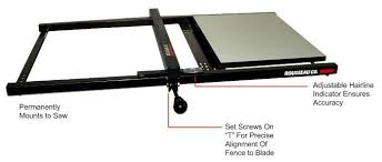 aftermarket table saw fence systems 100 table saw fence plans retrofitting a delta t2 fence to a
