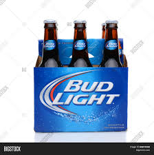 how much is a six pack of bud light bud light six pack side view image photo bigstock