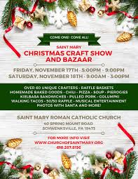 saint mary christmas craft show and bazaar limerick pa patch