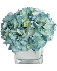 silk hydrangea deals on rg style silk hydrangea in decorative vase artificial