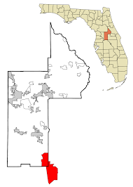 Greater Orlando Area Map by Four Corners Florida Wikipedia