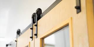 can you use an existing door for a barn door how to measure for a sliding barn door