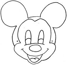 24 images of mouse mask craft template infovia net