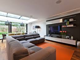 incredible sofas and led tv wall living room designs living room