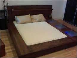 bedroom awesome diy bed frame plans rustic platform beds