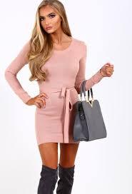 dress pink jumper dresses knitted jumper dresses pink boutique pink