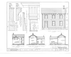 file greek revival house mccutchenville wyandot county oh habs