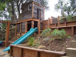 Rustic Landscaping Ideas by Marvelous Underground Trampoline Trend San Francisco Rustic