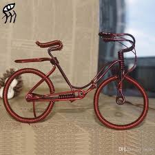 2018 2015 new creative gifts diy bike model wire cinnamon