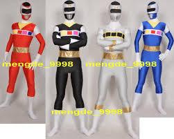 catsuit halloween costumes unisex power ranger suit costumes lycra spandex superhero bodysuit