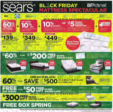 mattress firm black friday ad sears mattress black friday 2016 ad scan buyvia