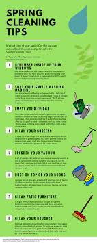 spring cleaning tips kick start your spring cleaning with this spring cleaning infographic