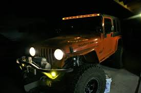 jeep rubicon orange installing rigid industries auxiliary led lights on a jeep