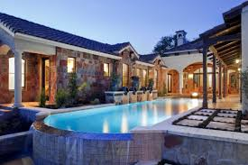 custom pool design build in the woodlands hortus landscape design