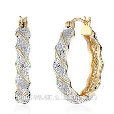 anting emas 24 karat china saudi gold design earring for women gold drop 24 carat gold