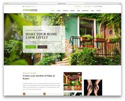 garden of eden flower shop 15 green eco friendly wordpress themes for green organic eco