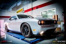 lowered muscle cars challenger scatpak gets low on bc coilovers u0026 wheels