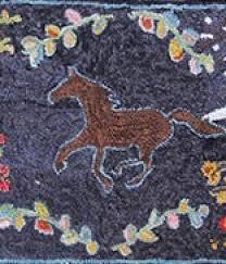 Punch Needle Rug Hooking Rug Hooking Pattern Horse Www Dkw Construction De