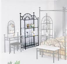 Wrought Iron Bathroom Furniture Bedroom Enchanting Wrought Iron Bedroom Vanity Set Design Rustic