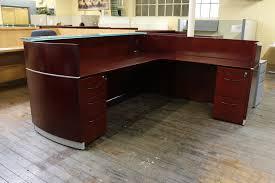Arnold Reception Desks by Mayline Napoli Reception Desk U2022 Peartree Office Furniture