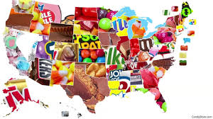 halloween cany see most popular halloween candy by state in interactive map