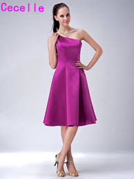 purple dresses for weddings knee length purple bridesmaid dresses simple a line knee length one