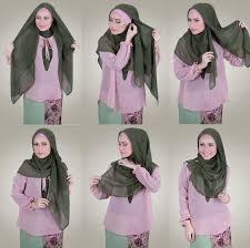 tutorial jilbab segi 4 untuk kebaya tutorial hijab segi 4 simple terbaru trend 2018 tutorial cara hijab