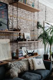 Creative Ideas For Interior Design by Best 25 Brick Wall Decor Ideas On Pinterest Rustic Industrial