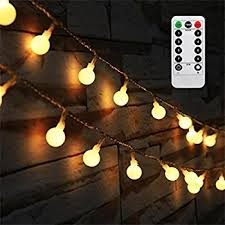 amazon com 100 led globe string lights ball christmas lights