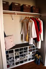 entry closet ideas custom entry closet the diy nurse