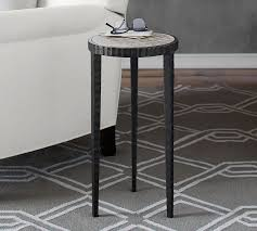 Iron Accent Table Grant Accent Table Pottery Barn