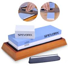 spevorix whetstone 1000 6000 knife sharpening stone for kitchen