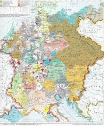 Map Of The Roman Empire The Holy Roman Empire Under Charles Iv 1355 1378