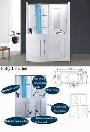 Corner Bathtub Shower Combo Small Bathroom Home Decor Small Corner Tub Shower Combo Freestanding Bathtub