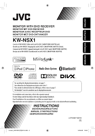 jvc kw nsx1 user manual 282 pages
