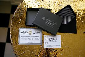 black and gold wedding ideas modern black and gold wedding ideas every last detail