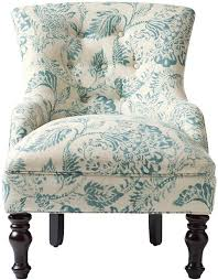 Light Blue Accent Chair Custom Elaine Accent Chair Durham Copen By Home Decorators