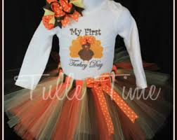 Thanksgiving Tutu Dresses Tulle Time By Tulletime On Etsy