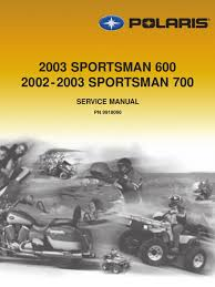 2002 polaris sportsman 700 service manual transmission