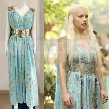Daenerys Targaryen Costume Game Of Thrones Daenerys Targaryen Qarth Cosplay Costume Dress