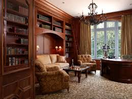 english library decor home design