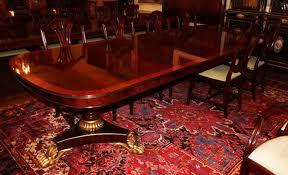 Antique Mahogany Dining Room Set by Antique Dining Tables
