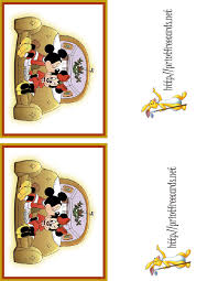 7 best images of free disney printable birthday cards free