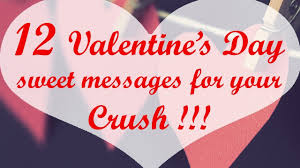 12 s day sweet messages for your crush
