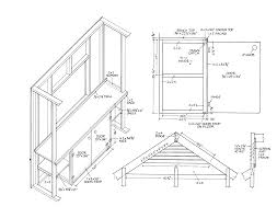 Cabin Blueprints Free Free Gable Shed Plans Part 3 Free Step By Step Shed Plans