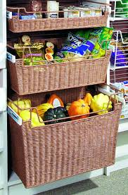 Cabinet Baskets Storage Pull Out Wicker Storage Baskets For Kitchen Cabinet Imanisr Com